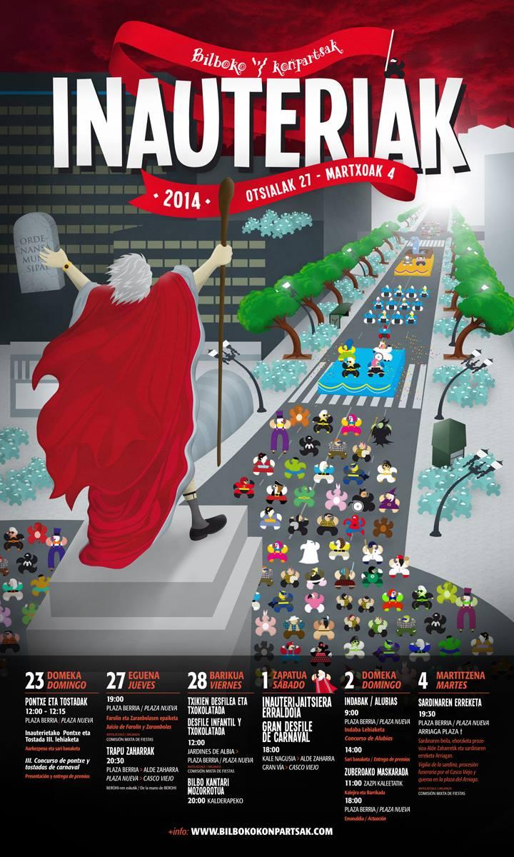 <!--:eu-->Bilboko Aratusteak 2014<!--:--><!--:es-->Carnavales de Bilbao 2014<!--:-->